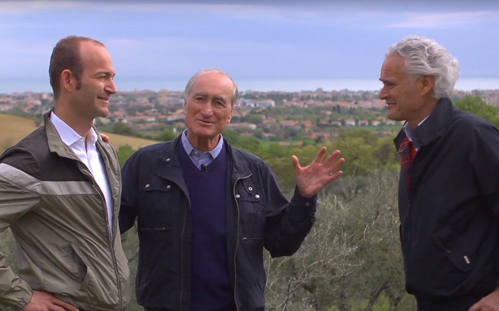 Fernando och Christian DI Luca besöker en olivoljeproducent i Italien